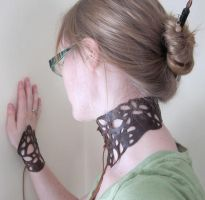 Leather Lace by nolwen