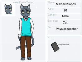 App for Kitty Katty Town: Mikhail by CyanoDrake