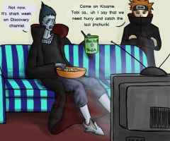 Where was Kisame? by LunarMaddness