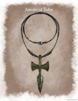 Amulet of Talos Soon by Worldofjewelcraft