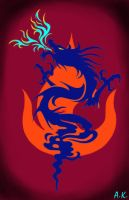 Dragon of Azula by Dragon-Autobot