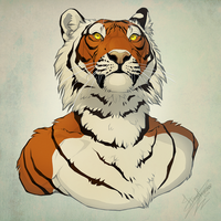 Catspawisland Bust Commission by Spike654