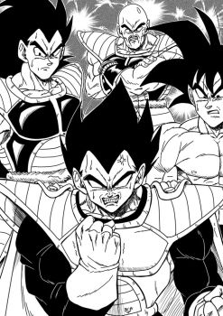 Vegeta doesn't get what he wants... by BK-81