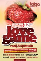 love game poster by sounddecor