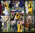 Fursuits on Everycon 2014 by OmegaLioness
