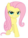 Fluttershy's Rage by ABadCookie