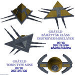 Goa'uld Destroyer 1 by Chiletrek