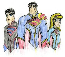 Team Krypton Colored by SplendorEnt