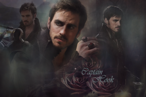 OUAT - Captain Hook Wallpaper by Vampiric-Time-Lord