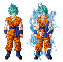 Goku Super Saiyan God Super Saiyan by BardockSonic