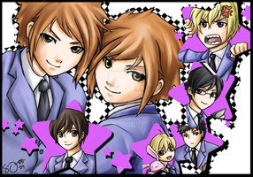 Ouran Galore by ttururu