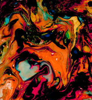 Psychedelic flow by CourtneyART