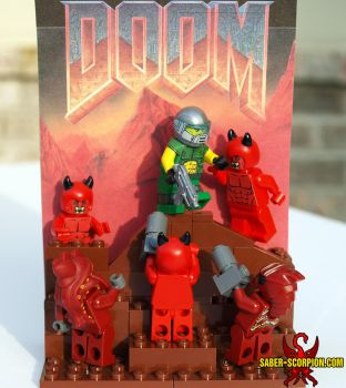 DOOM. Classic. by Saber-Scorpion
