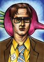 Dwight Schrute PSC by Chris Foreman by chris-foreman