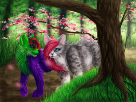 Flavvores Of The Rainbow by Radioactive-Ink