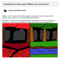 Ask Heather and Duke: where they live  (OLD) by Danny-Senpai