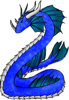 Leviathan A. - monster form by phoenixn91