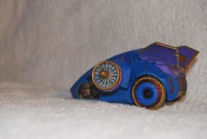 war for cybertron blue bug by Shenron-Customs