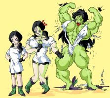 videl into she-hulk by rssam000