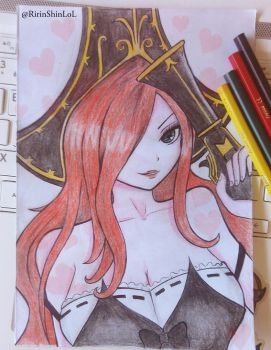 Miss Fortune Fan art by RirinShin