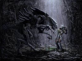 alien vs predator by PLuSSbjk