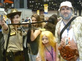 Walking Dead Cosplay Group 1 by Linksliltri4ce