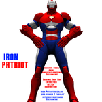 Norman Osborn Iron Patriot XNALara Model by MitsuomiTakayanagi