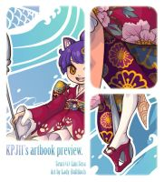 KPJ's artbook preview by Lady-Bullfinch