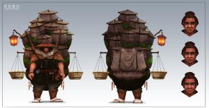 KOBO: Kobo The Merchant Redesign by JackEavesArt