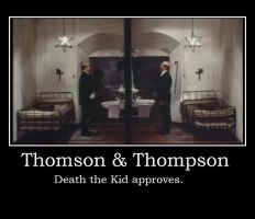 Thomson and Thompson Poster by JudgeChaos