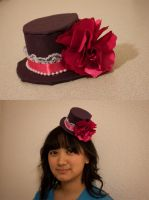 Lolita Warden tiny top hat by ashweez