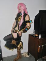Luka Shows A Little Leg by CosplayCuties