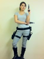 Lara Croft: Tomb Raider Movie Cosplay Progress by IXISerenityIXI