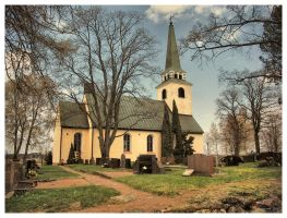 Degerby Church by Pajunen