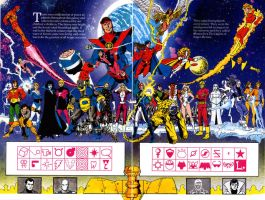 legion of superheroes by jscheller