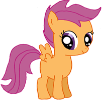 Scootaloo by Dragonsong3