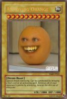 Yu-Gi-Oh Annoying Orange by 6n6jj43