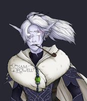 Warcraft: Vestrell during MOP(colour WIP edit2) by sampdesigns