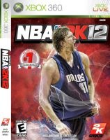 Dirk Nowitzki NBA 2k12 Cover by Angelmaker666