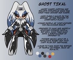 Ghost Tikal Reference by ChaosCroc