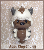 Appa Clay Charm by Comsical