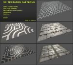 Free 3D Textures Pack 02 by Nobiax