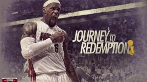 LeBron James 2012 NBA Champion Wallpaper by IshaanMishra