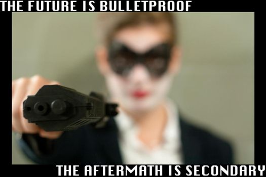 The Future is Bulletproof by George-le-meilleur
