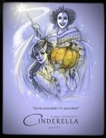 Cinderella: Godmother and her Apprentice by MonsieurDenvoir