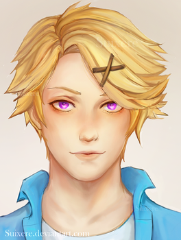 Yoosung: Mystic Messenger by Suixere