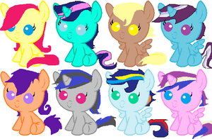 FREE MLP Guess To Adopt- CLOSED by LexiDog01