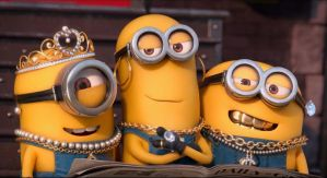 Minions With jewellery From Despicable Me by anshuman-tripathi