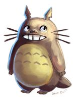 Totoro by OrcaOwl