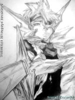 resketch Hollowfied Hitsugaya Toushiro by FRnimie